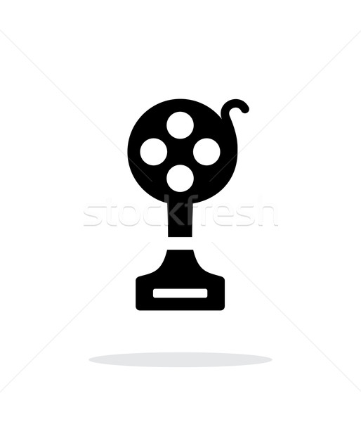 Best film simple icon on white background. Stock photo © tkacchuk