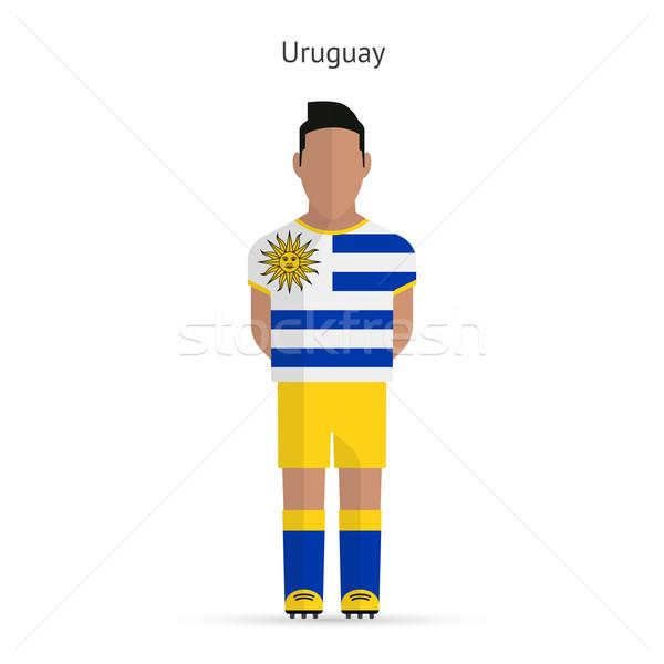 Уругвай футболист Футбол равномерный аннотация фитнес Сток-фото © tkacchuk