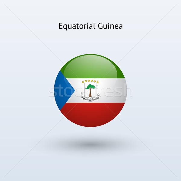 Guiné Equatorial bandeira cinza assinar teia viajar Foto stock © tkacchuk