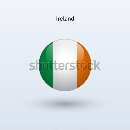 Берег Слоновой Кости флаг серый знак веб путешествия Сток-фото © tkacchuk