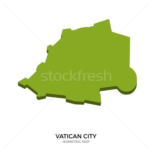 Izometryczny Pokaż Watykan szczegółowy odizolowany 3D Zdjęcia stock © tkacchuk