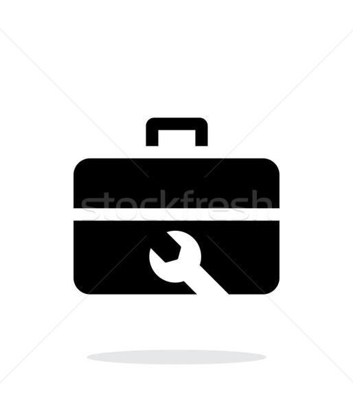 Repair Toolbox icon on white background. Stock photo © tkacchuk