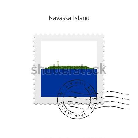 Estland vlag witte teken brief Stockfoto © tkacchuk