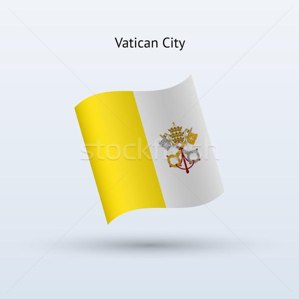 バチカン市国 フラグ フォーム グレー にログイン ストックフォト © tkacchuk