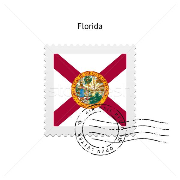 State of Florida flag postage stamp. Stock photo © tkacchuk