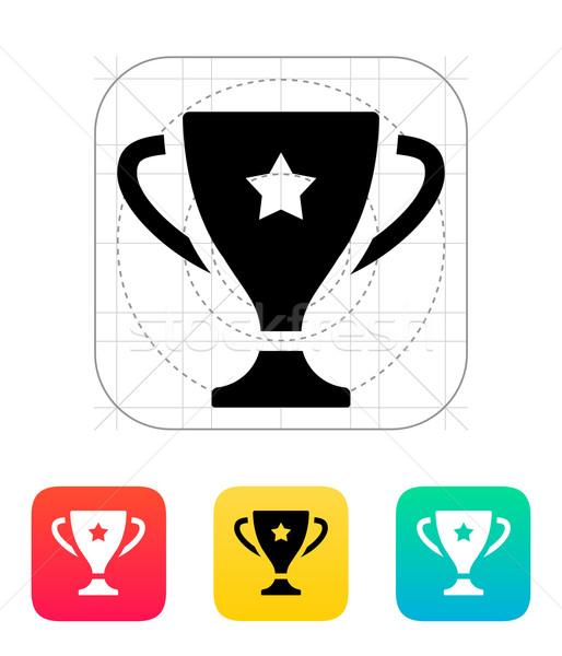 Favori fincan ikon kâğıt dizayn takım Stok fotoğraf © tkacchuk