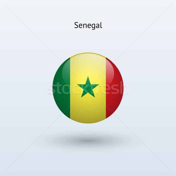 Sénégal pavillon gris signe web Voyage Photo stock © tkacchuk