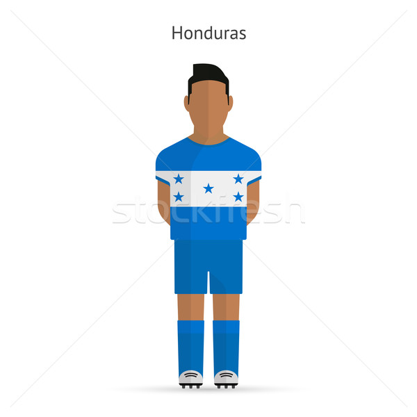 Honduras football uniforme résumé fitness Photo stock © tkacchuk