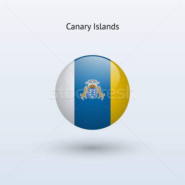 カナリア諸島 フラグ グレー にログイン ウェブ 旅行 ストックフォト © tkacchuk