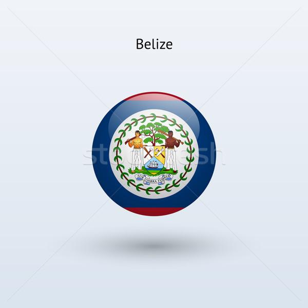Belize zászló szürke felirat háló utazás Stock fotó © tkacchuk