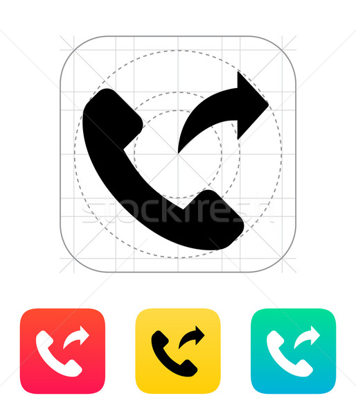 Call forwarding icon. Stock photo © tkacchuk