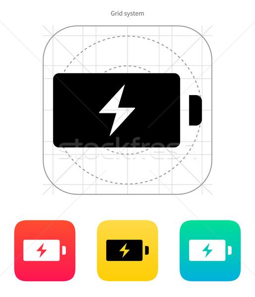 Energy icon. Vector illustration. Stock photo © tkacchuk