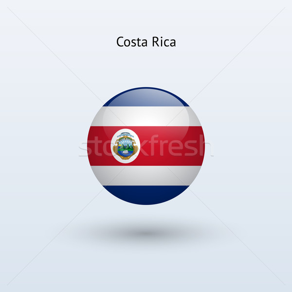 Costa Rica bandera gris signo web viaje Foto stock © tkacchuk