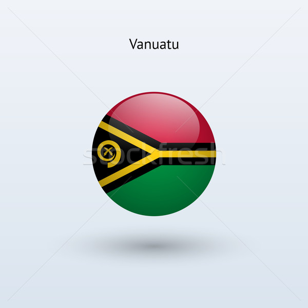 Vanuatu bandeira cinza assinar teia viajar Foto stock © tkacchuk