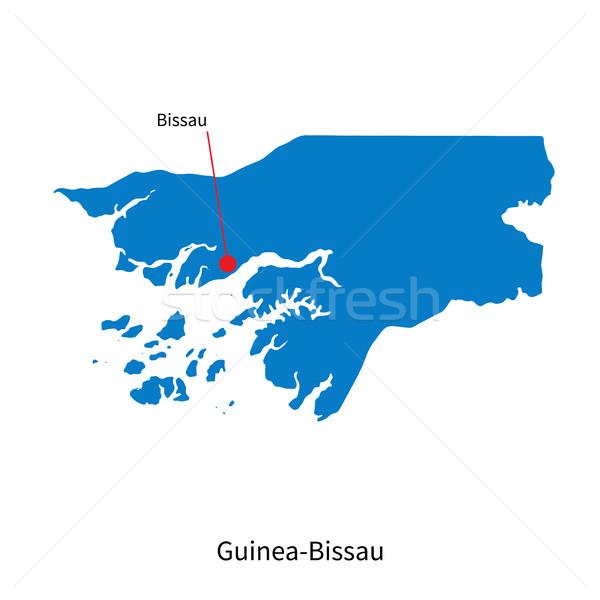 Detalhado vetor mapa cidade educação azul Foto stock © tkacchuk