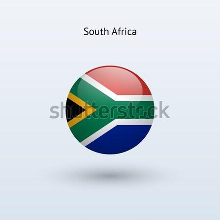 Foto stock: África · do · Sul · bandeira · cinza · assinar · teia · viajar