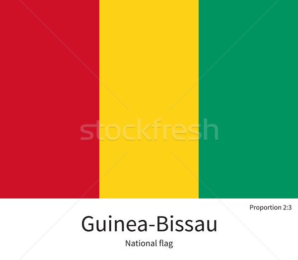Flagge korrigieren Element Farben Bildung Pfund Stock foto © tkacchuk