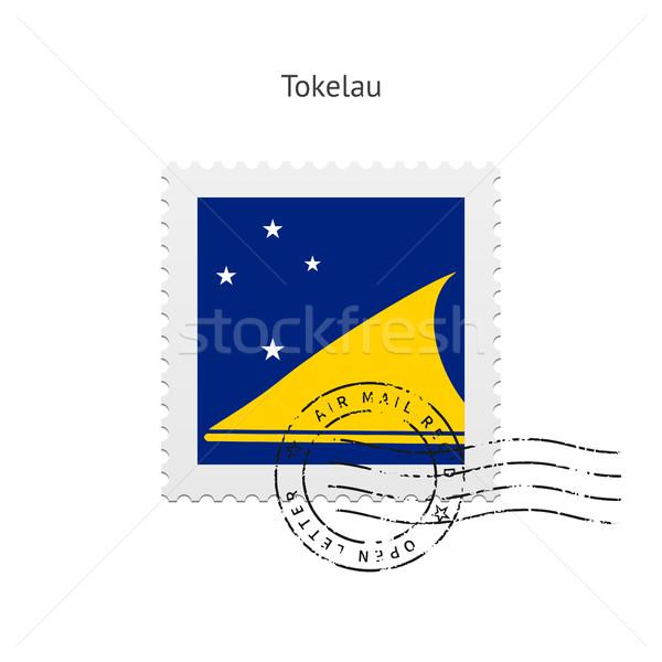 Tokelau Flag Postage Stamp. Stock photo © tkacchuk