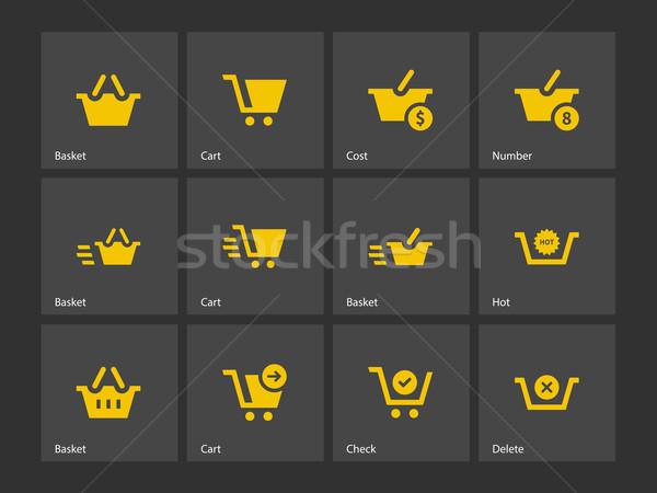 Checkout icons. Stock photo © tkacchuk