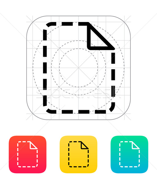 Missing file icon. Stock photo © tkacchuk
