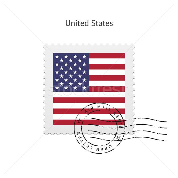 United States Flag Postage Stamp. Stock photo © tkacchuk