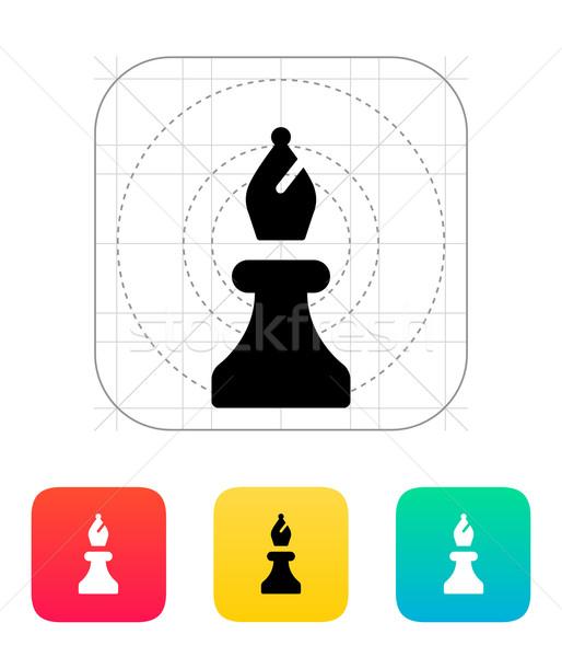 Chess Bishop icon. Stock photo © tkacchuk