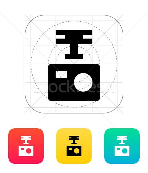 Portable drone camera icon. Stock photo © tkacchuk