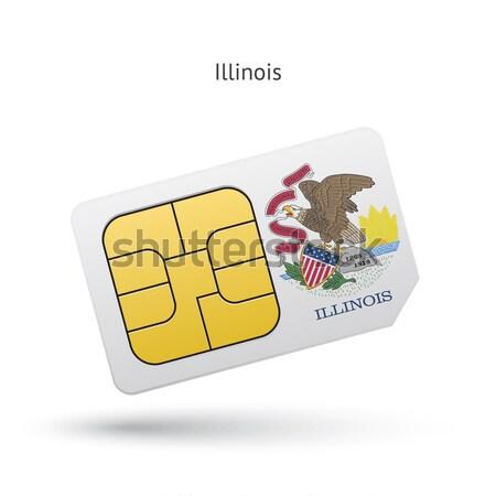 ストックフォト: クレジットカード · フラグ · 銀行 · プレゼンテーション · ビジネス