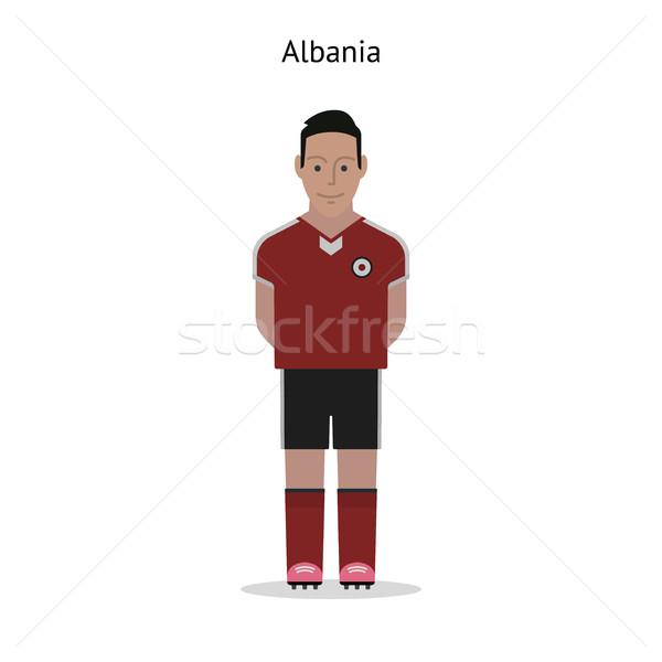 Football kit. Albania Stock photo © tkacchuk