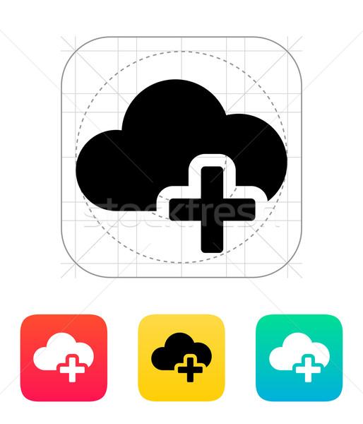 Ikona Internetu podpisania internetowych Zdjęcia stock © tkacchuk