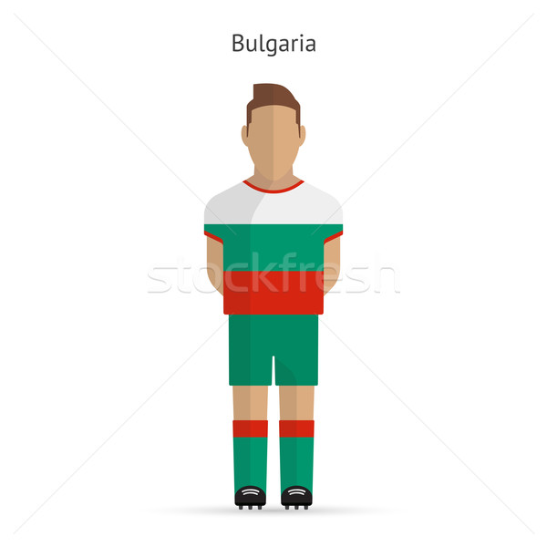 Bulgarie football uniforme résumé fitness Photo stock © tkacchuk