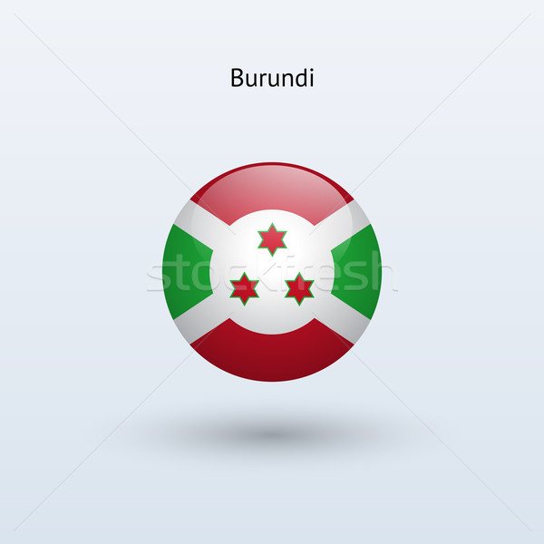 Burundi bandeira cinza assinar teia viajar Foto stock © tkacchuk