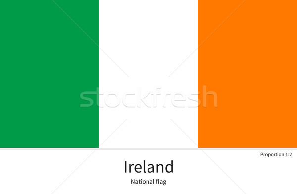 флаг Ирландия исправить элемент цветами образование Сток-фото © tkacchuk