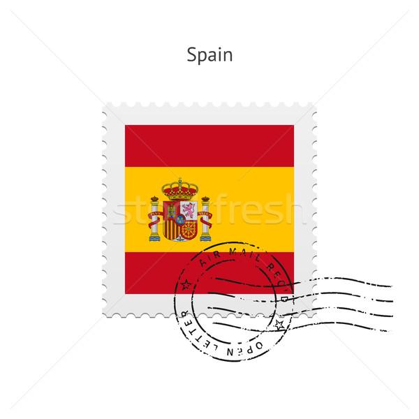 Spagna bandiera bianco segno lettera Foto d'archivio © tkacchuk
