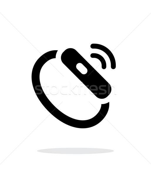 Smart Смотреть сигнала простой икона белый Сток-фото © tkacchuk
