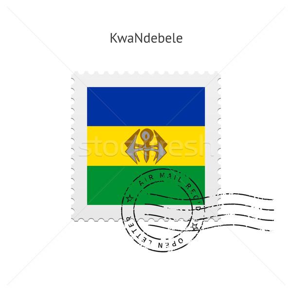 KwaNdebele Flag Postage Stamp. Stock photo © tkacchuk
