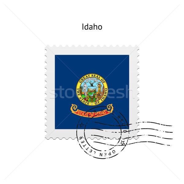 State of Idaho flag postage stamp. Stock photo © tkacchuk