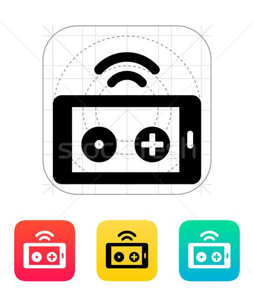 Phone remote controller icon. Stock photo © tkacchuk