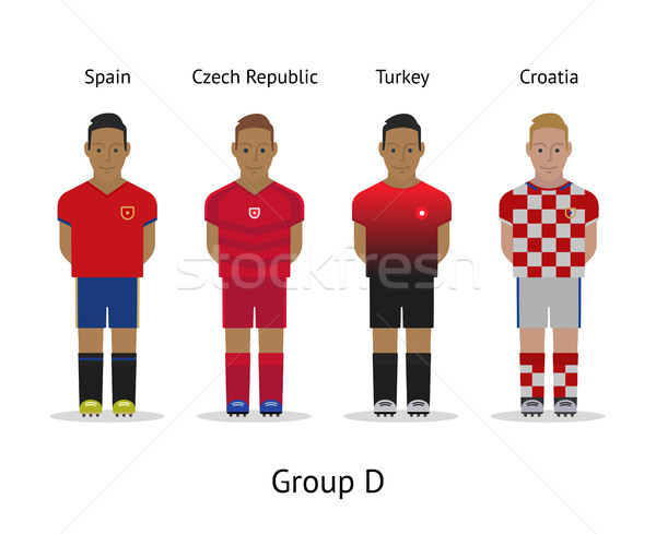 Players Kit Football Championship In France 2016 Group D