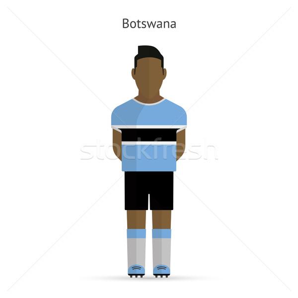 Botswana football player. Soccer uniform. Stock photo © tkacchuk