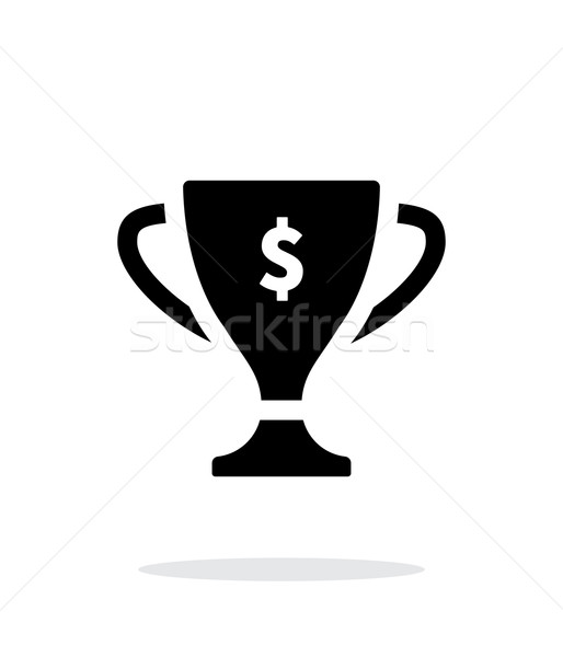 Champions cup icon on white background. Stock photo © tkacchuk