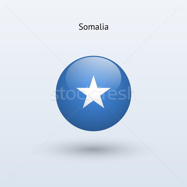 Сток-фото: Сомали · флаг · серый · знак · веб · путешествия