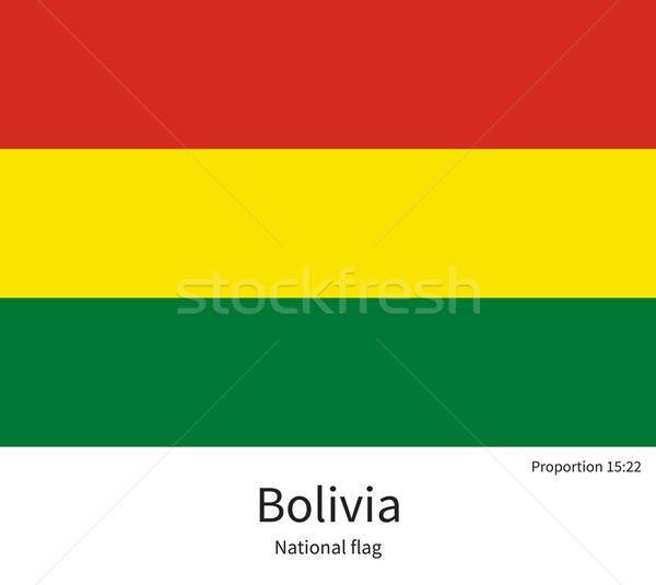 флаг Боливия исправить элемент цветами образование Сток-фото © tkacchuk