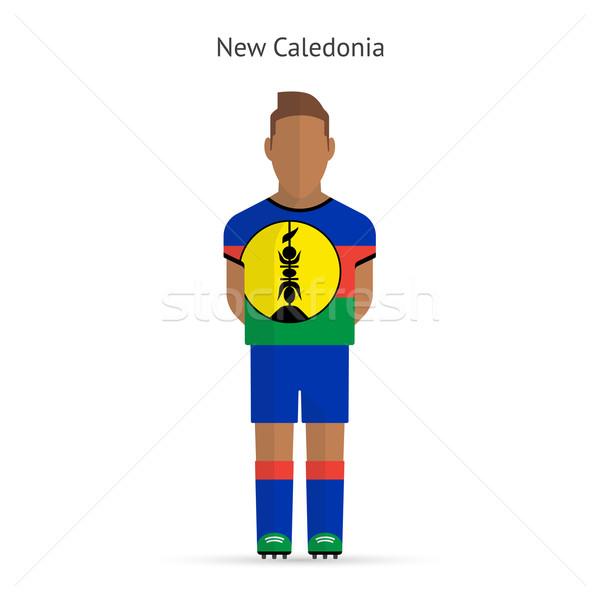 New Caledonia football player. Soccer uniform. Stock photo © tkacchuk