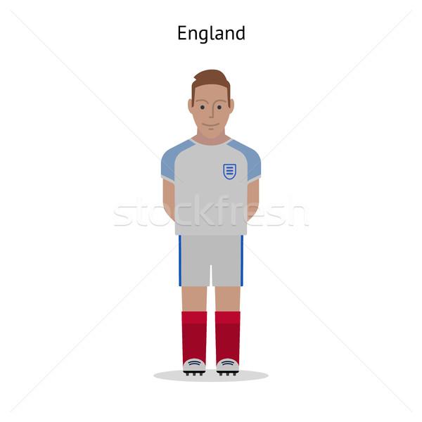 Football kit. England Stock photo © tkacchuk