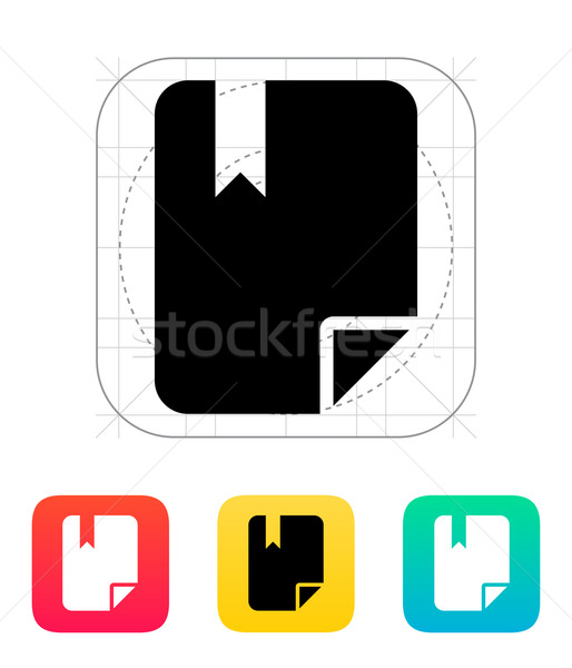 File bookmark icon. Stock photo © tkacchuk