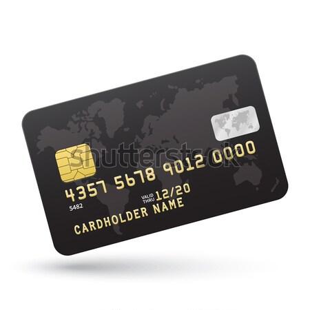 クレジットカード フラグ 銀行 プレゼンテーション ビジネス ストックフォト © tkacchuk