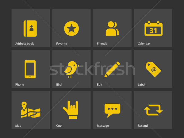 Social icons. Stock photo © tkacchuk
