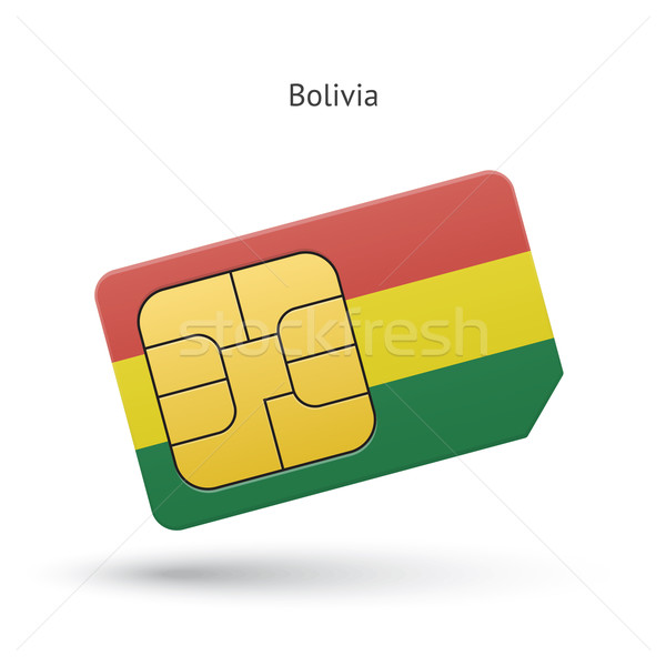 Боливия мобильного телефона карт флаг бизнеса дизайна Сток-фото © tkacchuk