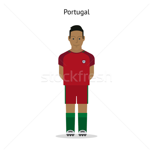 Calcio Portogallo calciatore forma calcio Foto d'archivio © tkacchuk